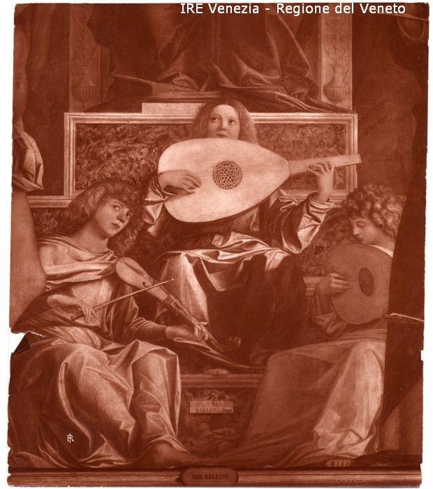 11626 - Angelo musicante / positivo / 1905 ( ca. )