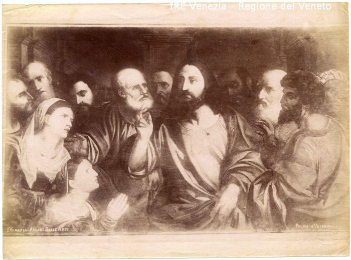 1 - Cristo e la vedova di Naim / positivo / Brusa, Giovanni Battista; / 1885 ( ca. )