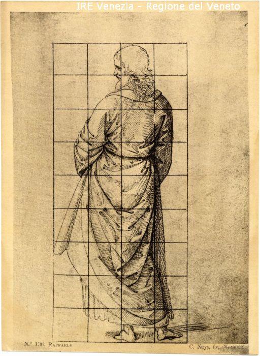 136 - Studio per figura maschile / positivo / 1895 ( ca. )